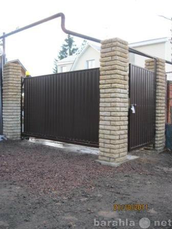 Продам Ворота откатные 3,5*1,7 м