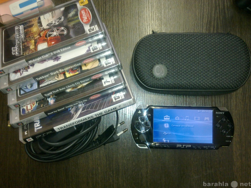 Продам: Приставка Sony PSP 5 ИГР Wi-Fi
