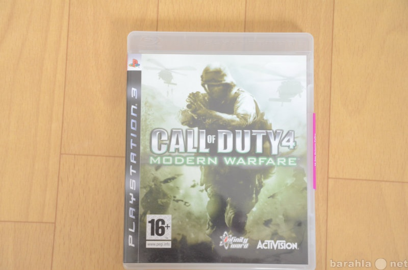 Продам: Call of Duty 4 modern warfare ps3