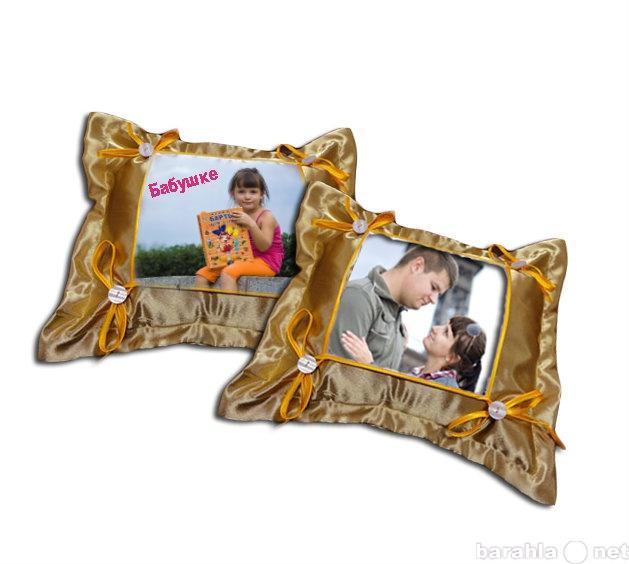 Продам Ваши фото на холсте, подушке, тарелке