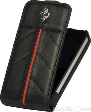 Продам Кожаный чехол-книжка Ferrari для iPhone