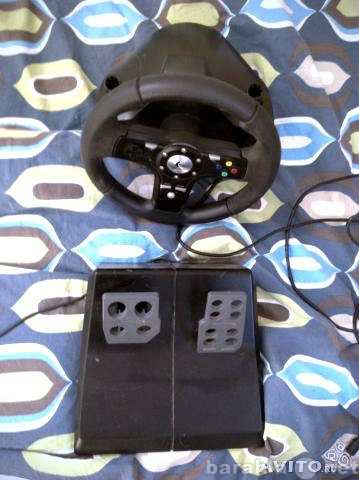 Продам Logitech drivefx racing wheel