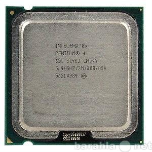 Продам: процессоры 1-ядерные Intel на 775 сокет