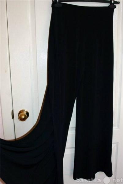 Продам Черные брюки с разрезами
