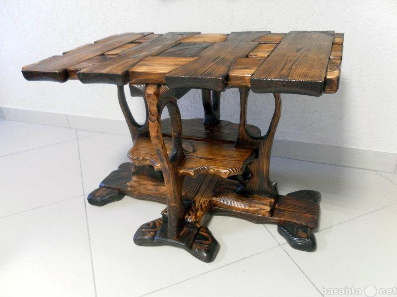 Продам Кофейный стол из массива дерева