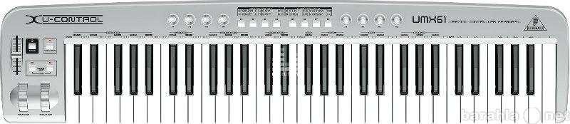 Продам миди-клавиатуру behringer U-control UMX6