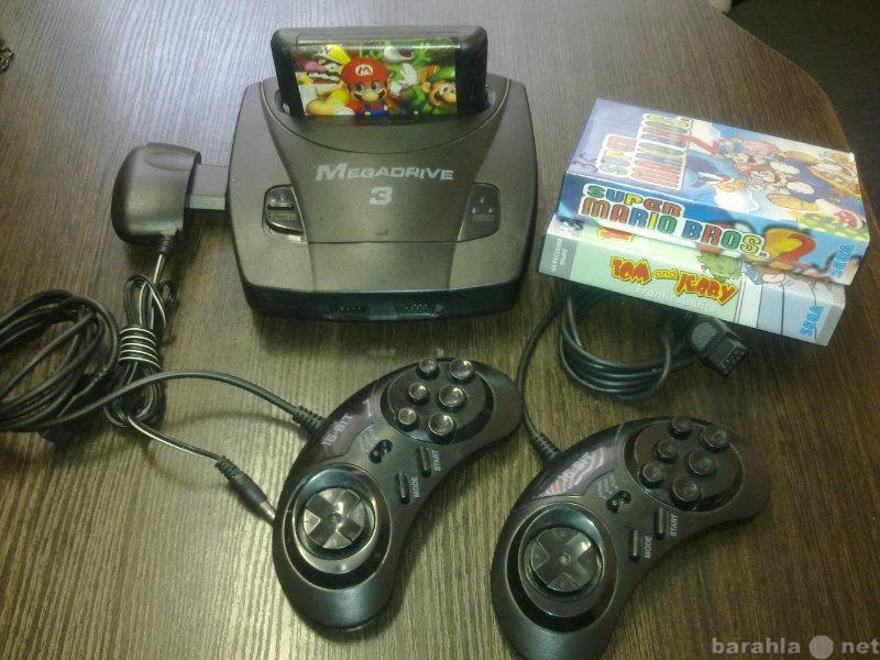 Продам: ИГРОВАЯ ПРИСТАВКА Sega Mega Drive 3