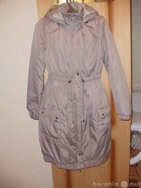 Продам Утепленное пальто из непромокаемой ткани