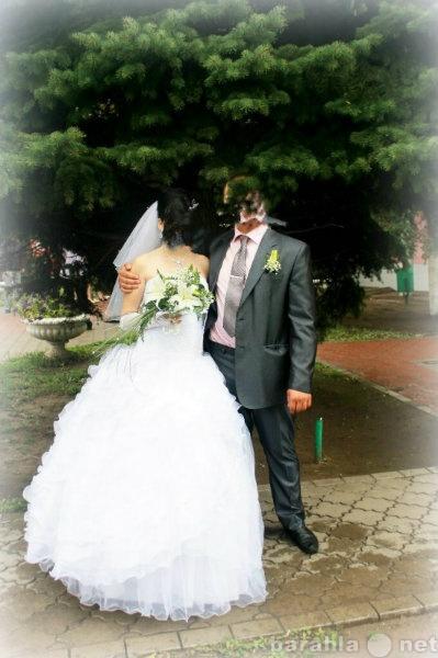 Продам свадебное платье с туфлями, фатой и т.д