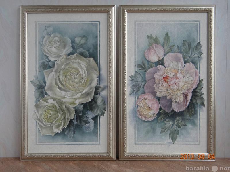 """Продам Картины """"Цветыв рамке"""""""