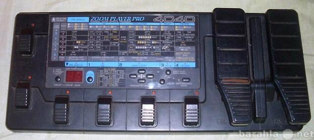 Продам Процессор для гитары zoom 4040