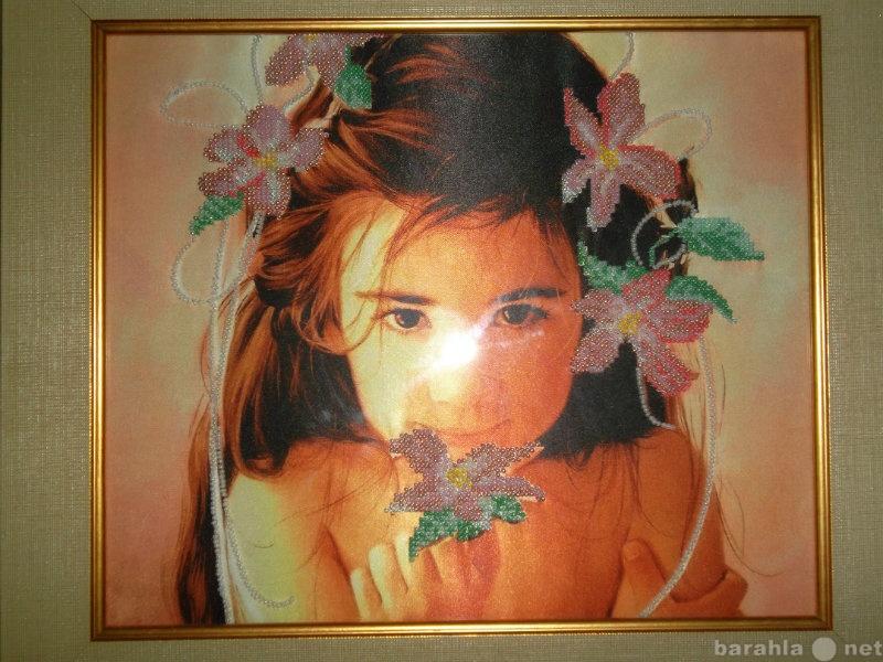 Продажа вышитых картин бисером за границу