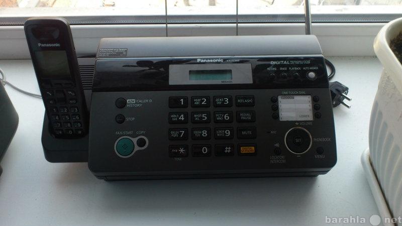 Продам факс с радиотрубкой