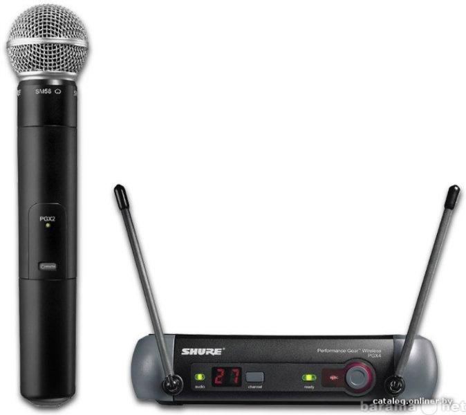 Продам Новую вокальную радиосистему shure PGX24