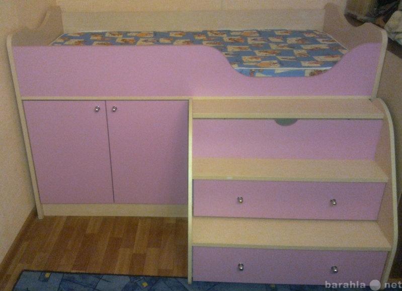 Продам Детская кровать приют мини М3 с матрасом
