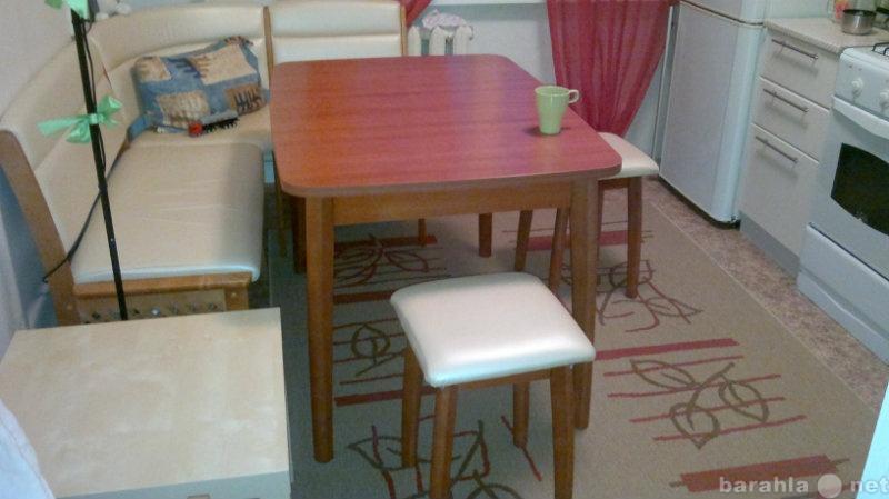 Продам: Кухонный уголок+стол+табуретки