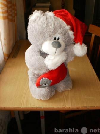 Продам Мишка Санта Клаус в колпачке.