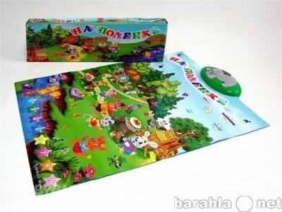 Продам детский звуковой новый плакат полянка