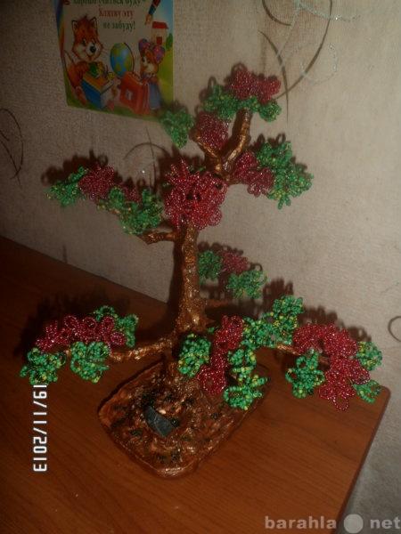 Продам Деревья и цветы из бисера ручной работы