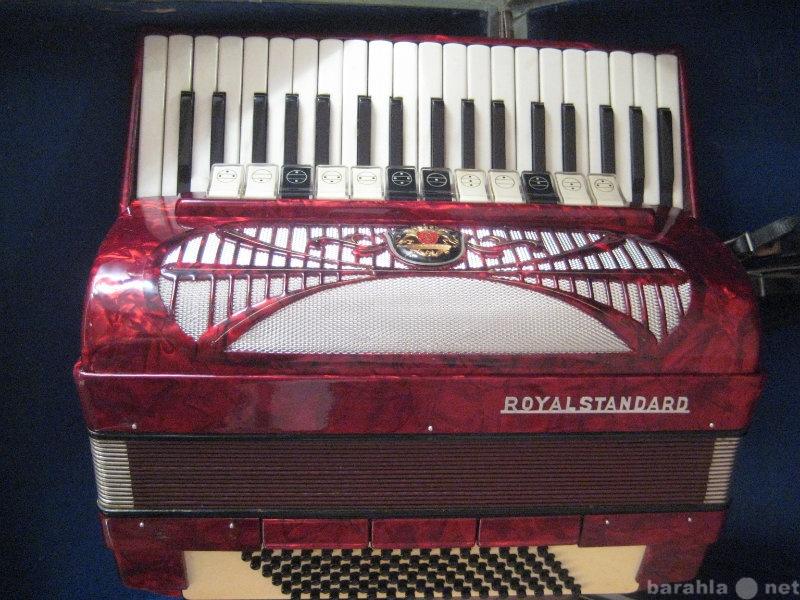 Продам полный аккордеон royal standard silvana