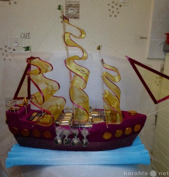 Продам Корабль из конфет