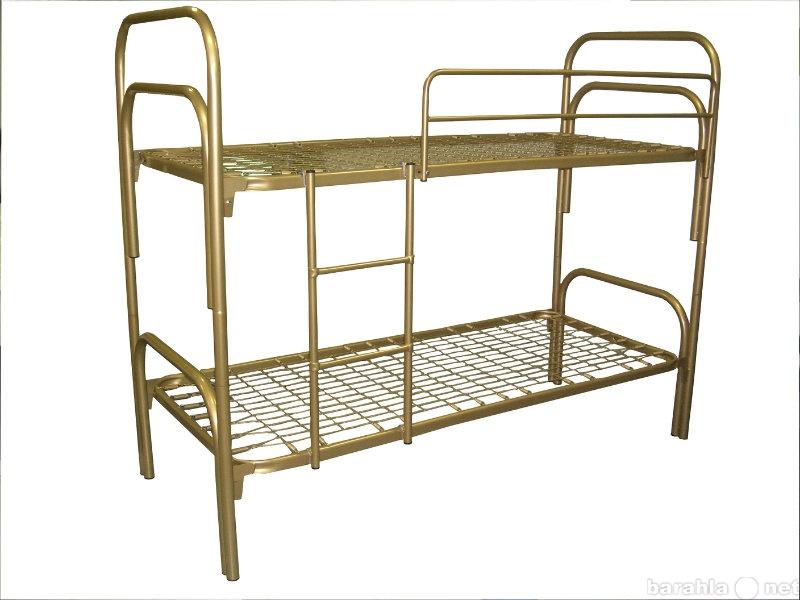Продам кровати металлические одноярусные оптои