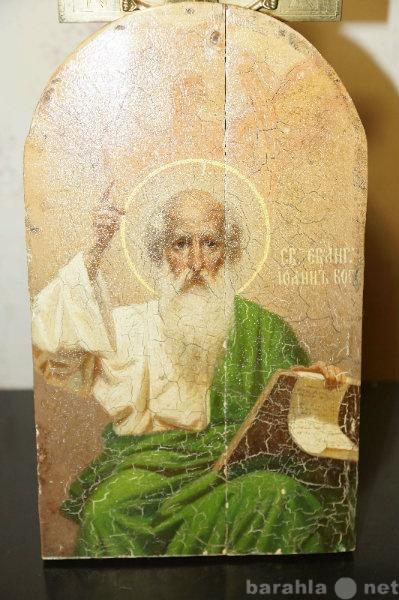 Продам: Образ св.ап. и ев.Иоанна Богослова. XIXв
