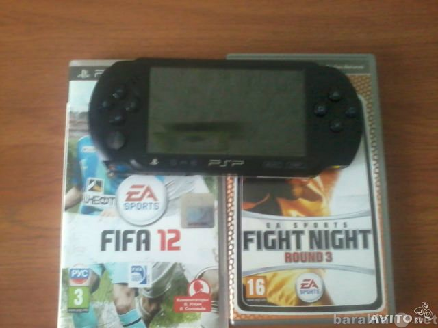 Продам PSP E1008 прошитая