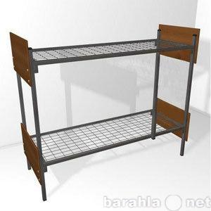 Продам кровати металлические для рабочих, опт