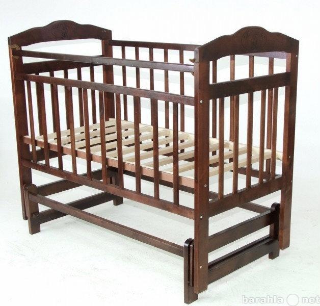 Продам Детская деревянная кроватка Ника маятник