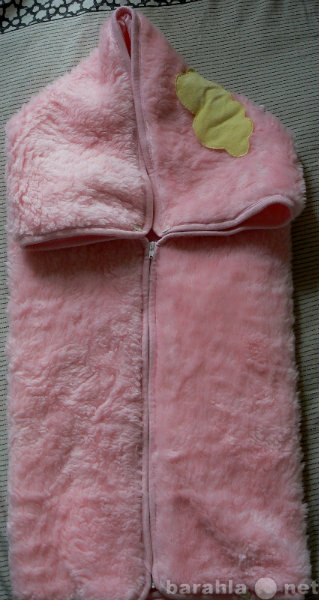 Отдам даром Конверт-плед розовый (плотный, искусстве