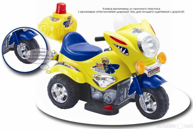 Продам Электромотоцикл детский TjaGo Mini Polic