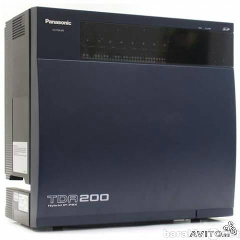 Продам Цифровая атс Panasonic KX-TDA200 с устан