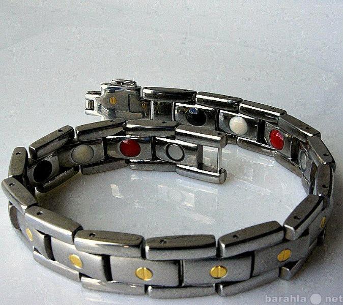 Продам Титановый магнитный браслет мужской