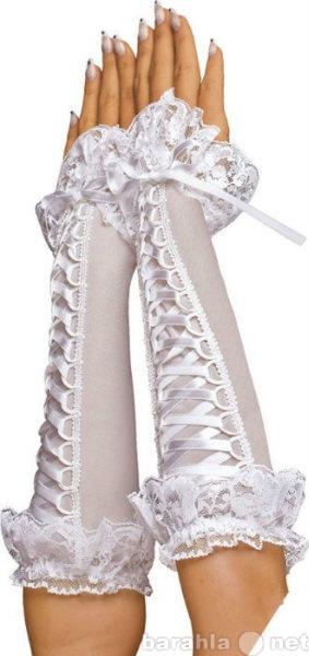 Продам 633102 - Перчатки со шнуровкой, до локтя