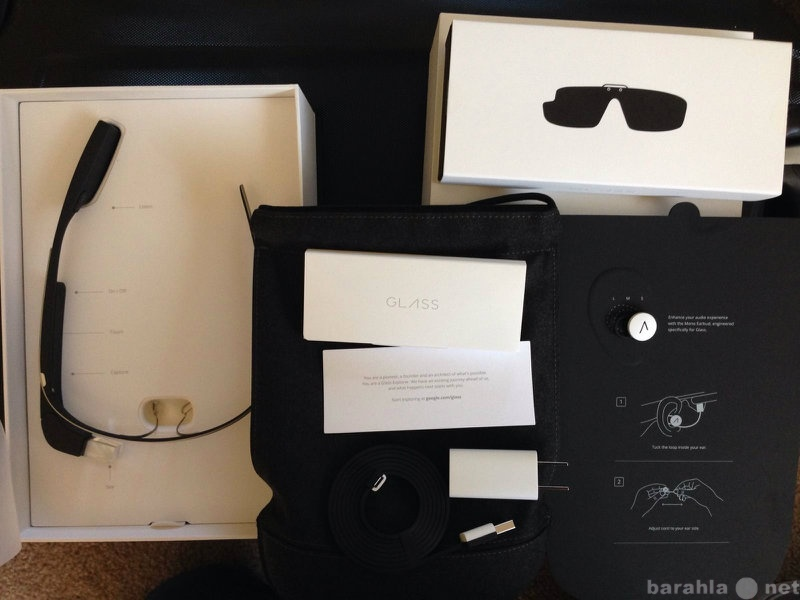 Продам Google Glass Explorer 2.0, Charcoal