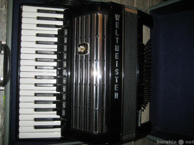 Продам новый аккордеон weltmeister consona 2шт