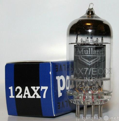 Продам ECC83 /12AX7 Mullard
