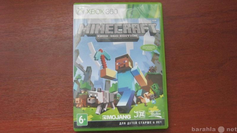 Продам: Диск на xbox 360 minecraft