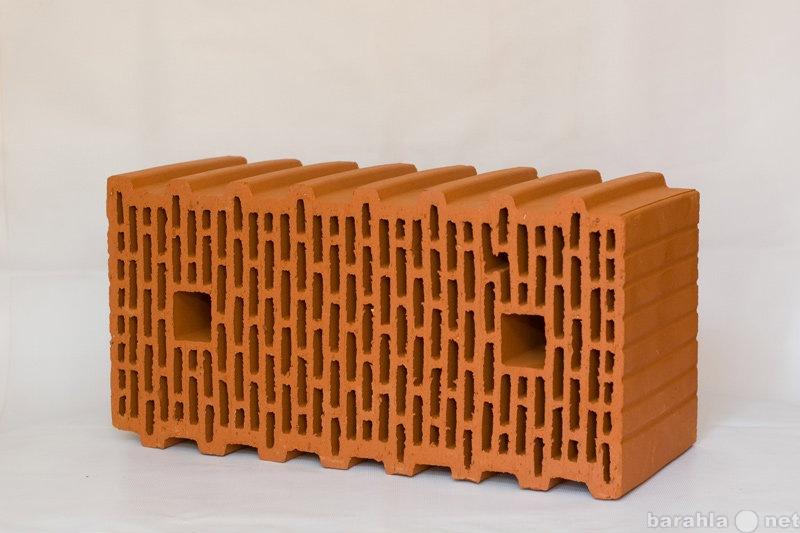 Продам: Керамический поризованный блок BRAER, 14