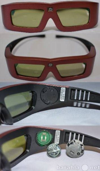 Продам Затворные 3D очки для проектора 3D DLP.