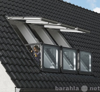 Продам Окно - балкон VELUX (Велюкс), GDL Cabrio