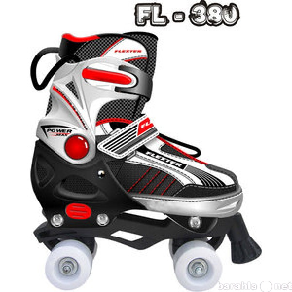 Продам: Роликовые коньки раздвижные (FL-380)