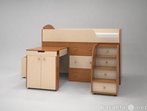 Продам Кровать-чердак Малыш вишня-беж