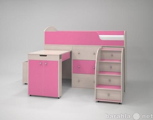 Продам Кровать-чердак Малыш розовый