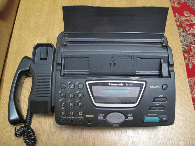 Продам Факс panasonic KX-FC 72