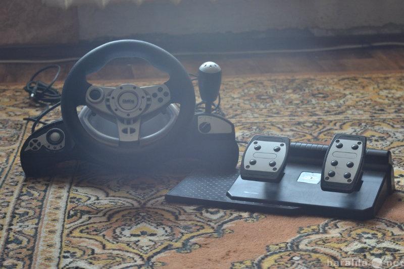 Продам Игровой руль Dialog GW-14VR+ педали