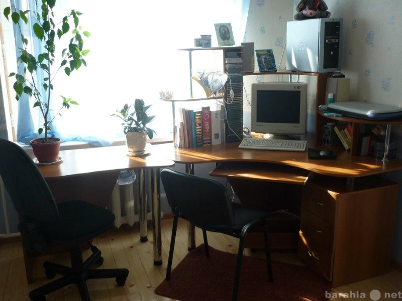 Продам компьютерный стол+приставной стол