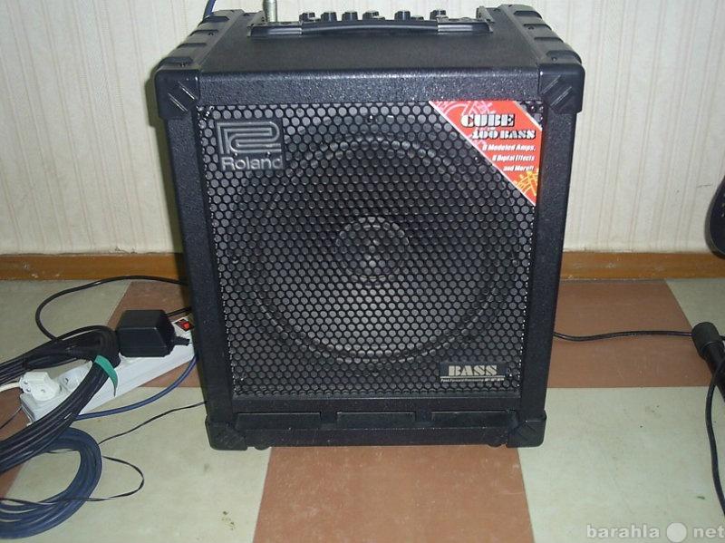 Продам Басовый комбик Roland Cube-100