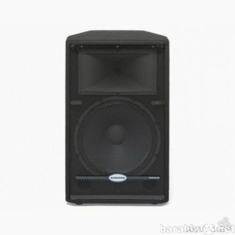 Продам Колонки Samson RS15HD 2*300 Вт, 8 Ом+Каб